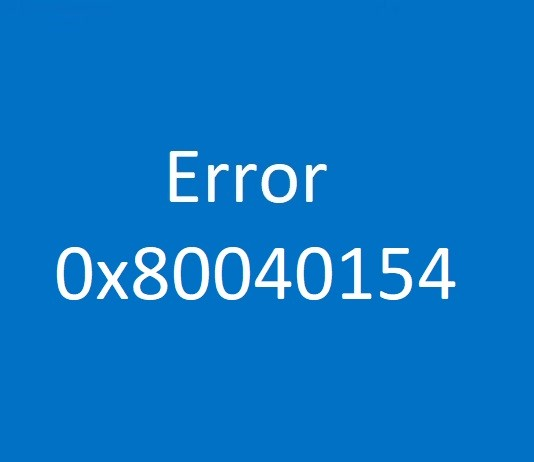 Photo of How to fix outlook Error 0x80040154?